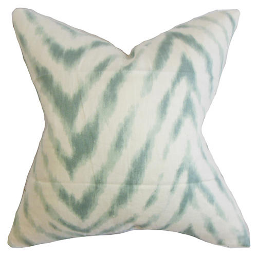 Animal 18x18 Pillow, Aqua