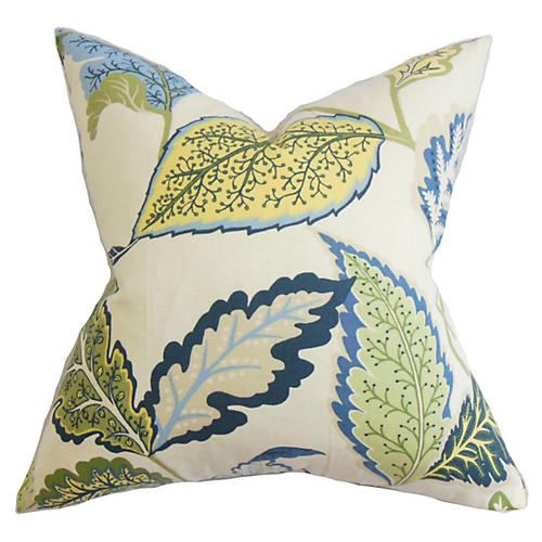 Noisette 18x18 Pillow, Blue