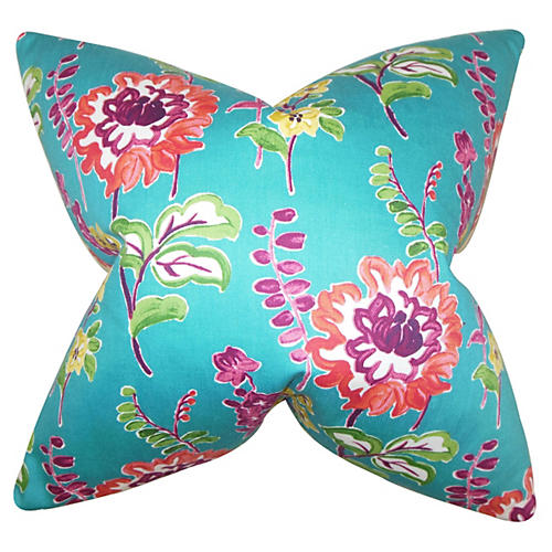 Maven 18x18 Pillow, Peacock