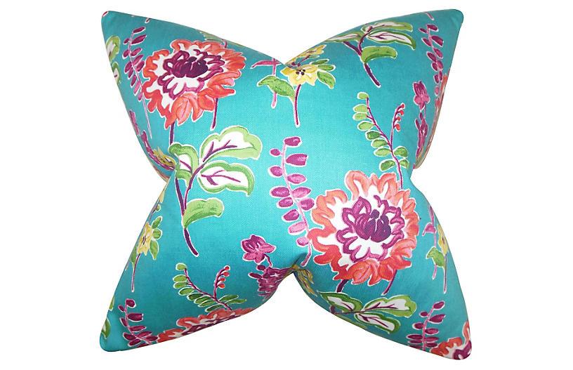 Maven 18x18 Pillow, Peacock