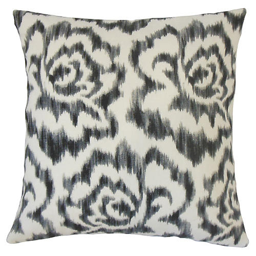 Jack 20x20 Pillow, Black