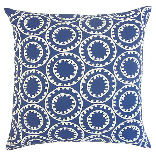 Gaerwn 20x20 Indoor/Outdoor Pillow, Blue