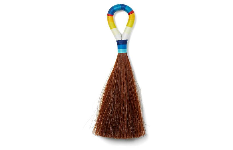 Large Horse-Hair Tassel, Brown