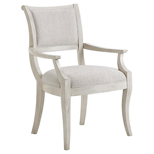 Eastport Armchair, Light Gray