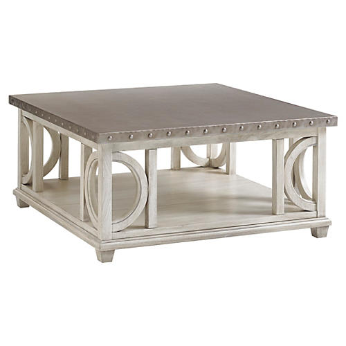 Litchfield Coffee Table, Oyster