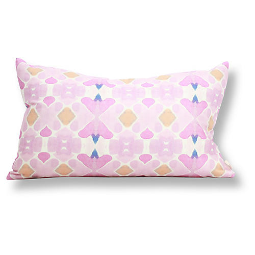 Casablanca 12x20 Lumbar Pillow, Pink
