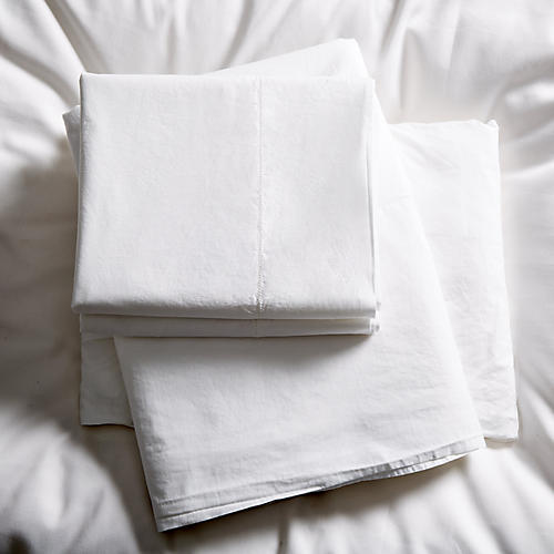 Acara Sheet Set, Cream