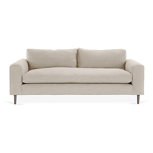 Rumsey Sofa, Bisque Linen