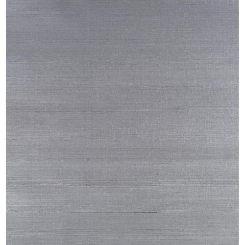 Grass-Cloth Wallpaper, Gray