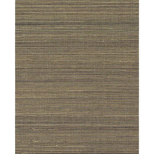 Grass-Cloth Wallpaper, Coffee