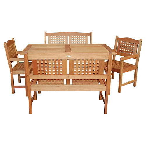 Milano Eucalyptus 5-Pc Porto Set