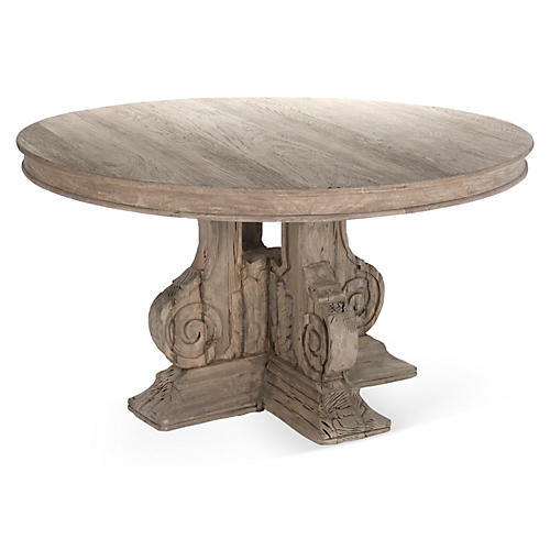 """Hayes 54"""" Round Dining Table"""