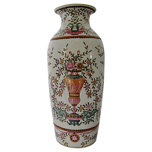 Hand-Painted Chinese Vase