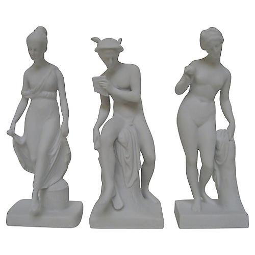 Bing & Grøndahl Bisque Figurines, S/3