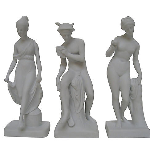 Bing & Grøndahl Bisque Figurines, S/3
