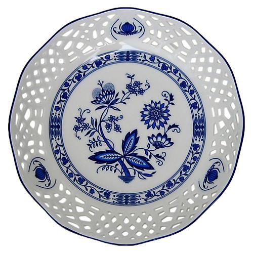 Blue Onion Porcelain Bowl