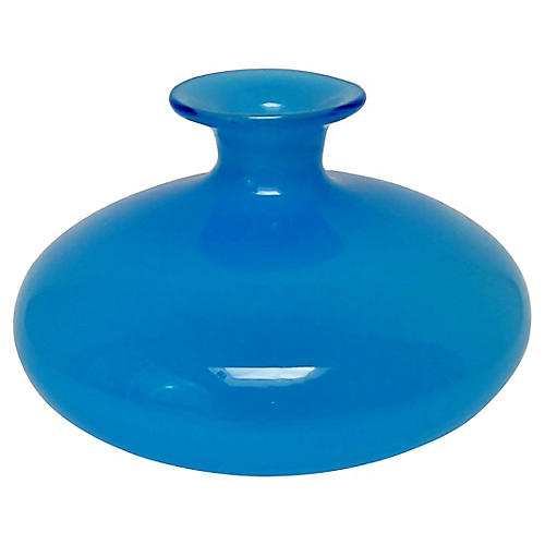 Blue Gourd Vase