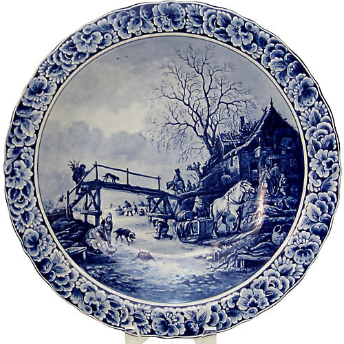 Delft Limited Edition Wall Plate