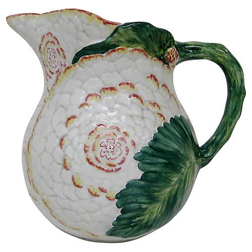 Italian Porcelain Pitcher