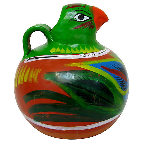 Mexican Parrot Pitcher