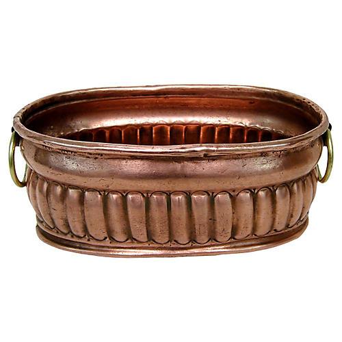 Copper Jardinière