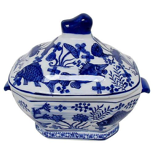 Porcelain Lidded Tureen