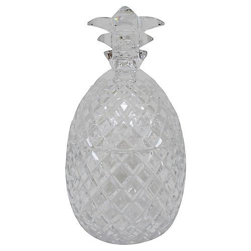 Crystal Pineapple Bonbonniere