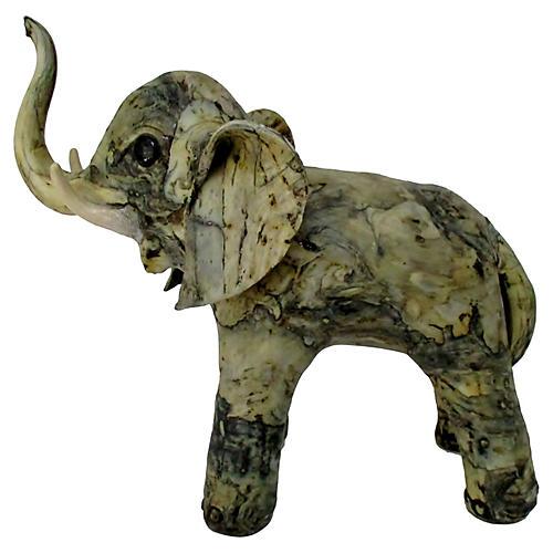 Papier-Mâché Elephant