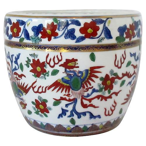 Japanese Porcelain Cachepot