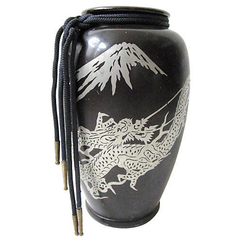 Japanese Dragon Vase