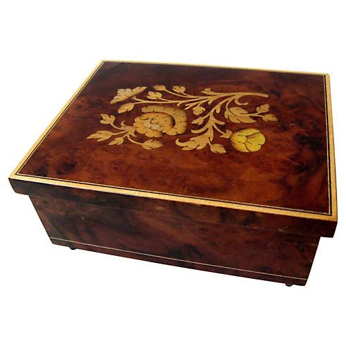 Italian Marquetry Box