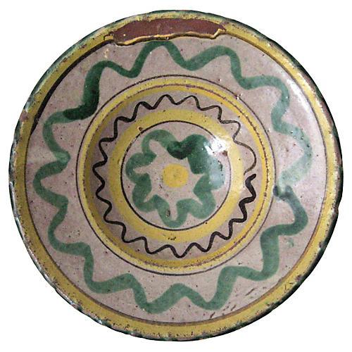 Antique French Provençal Bowl