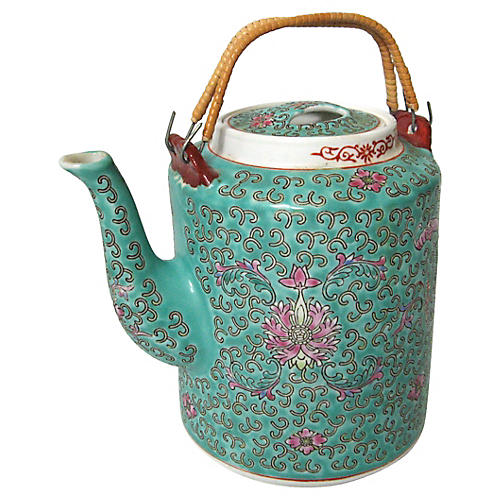 Midcentury Chinese Teapot