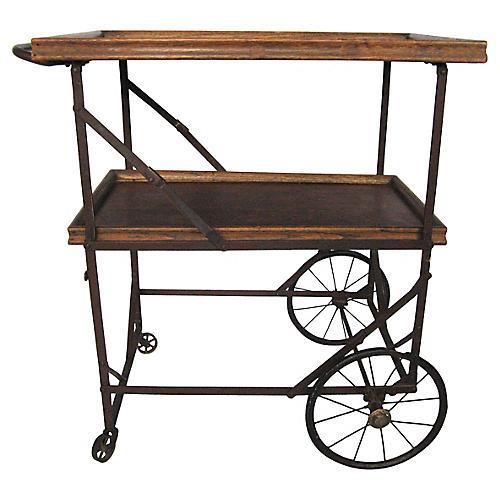 19th-C. Folding Trolley