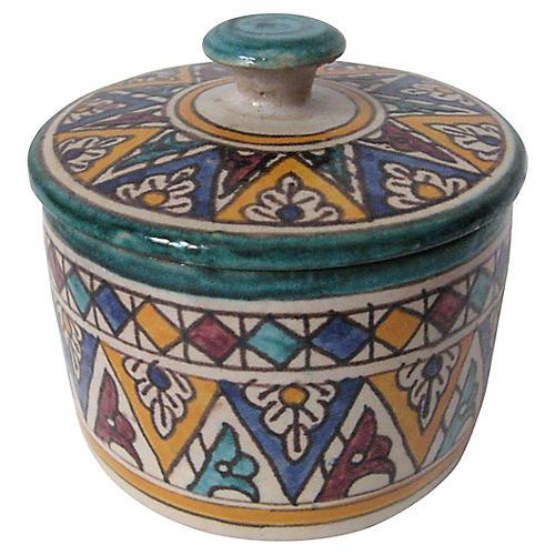 Moroccan Lidded Jar