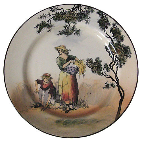 Royal Doulton Pictorial Plate