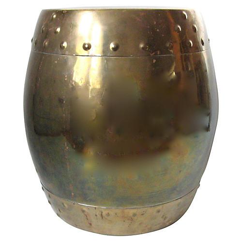 Brass Garden Stool