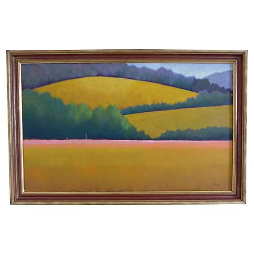 Berkshire Landscape Painting