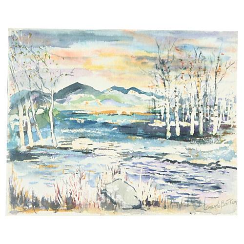 Landscape by C. Brittan
