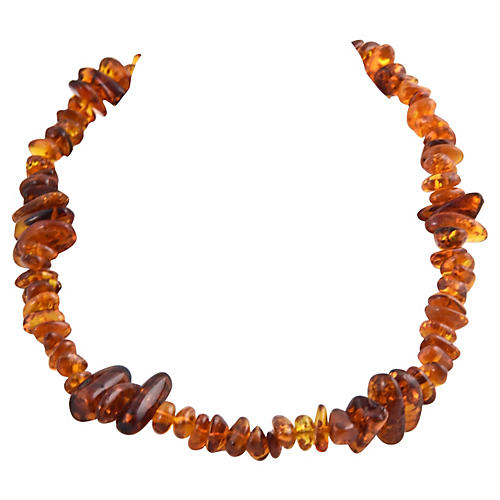 Baltic Honey Cognac Amber Necklace