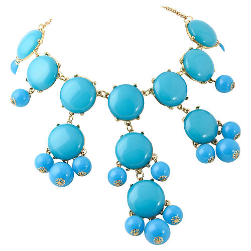 St. Tropez-Style Turquoise Necklace