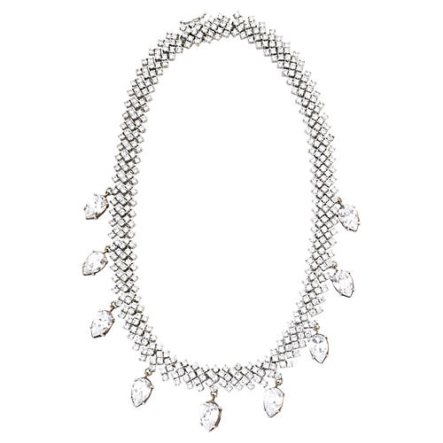 Red Carpet Crystal Necklace