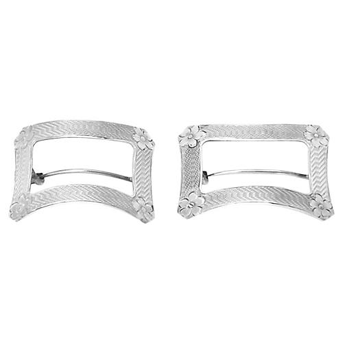 Antique Tiffany & Co Shoe Buckles