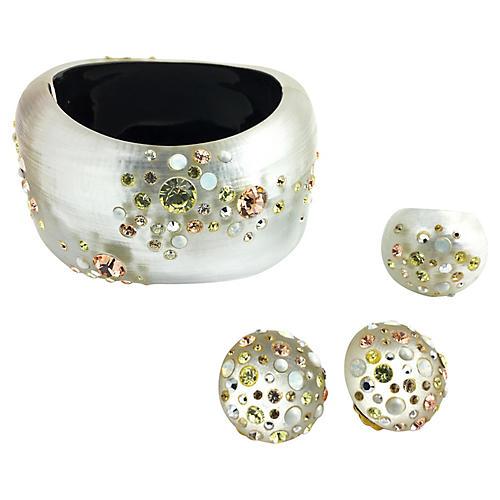 Alexis Bittar Bracelet Ring & Earrings