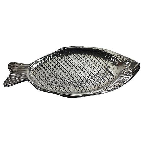 Reed & Barton Silver Plate Fish Platter