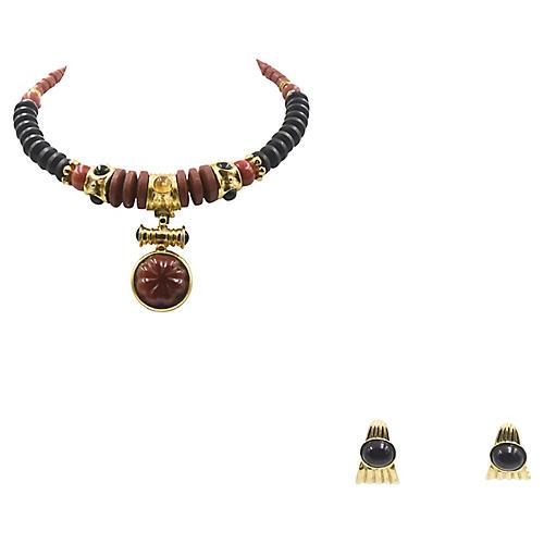 Francesca Romana Necklace & Earrings