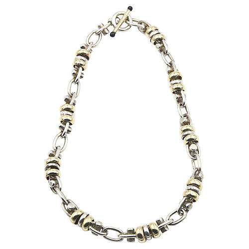 Sterling & Gold-Plated Necklace