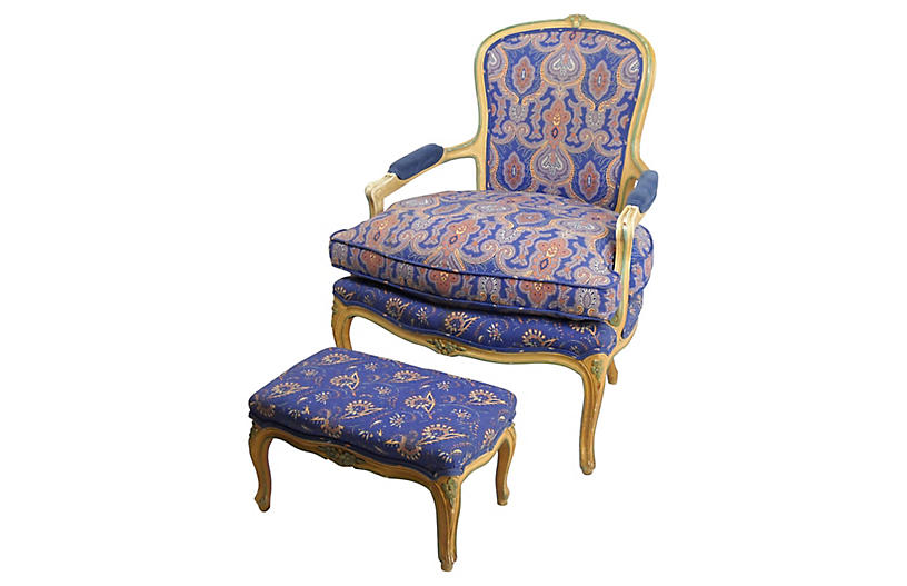 W j sloane fauteuil and ottoman acquisitions gallerie brands on - Fauteuil cinna ottoman ...