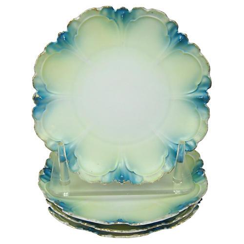 French Dessert Plates, S/4