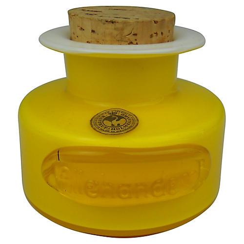 Holmegaard Cased Glass Spice Jar